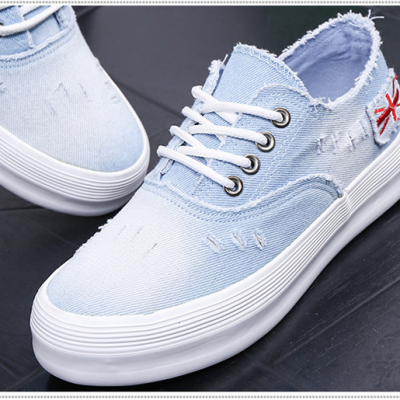Denim Canvas Platforms
