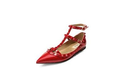 Pointed Toe Patent Leather Flats