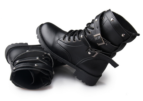 Motorcycle Punk Boot