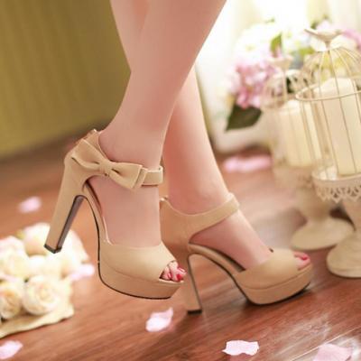 Sweet High Heel Sandals