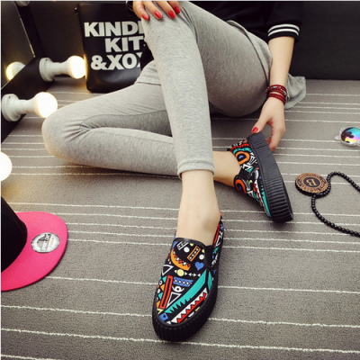 Bohemian Canvas Shoes