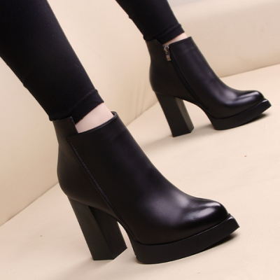 Winter High Heel Boots
